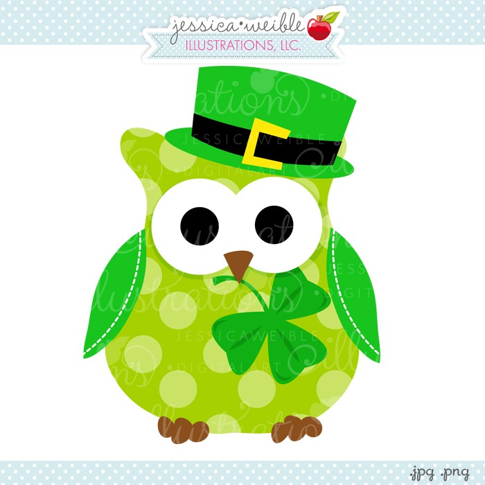 Green Day clipart owl Owl St green JW cute