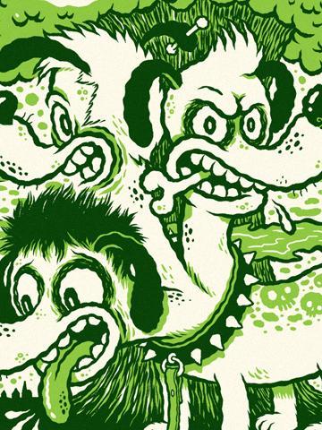Green Day clipart plant  — Michael Hacker Illustration