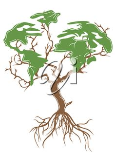 Green Day clipart plant Clipart a iCLIPART of Earth