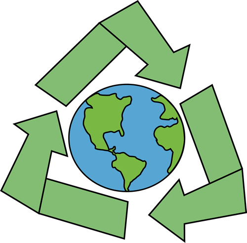 Green Day clipart recycle Earth Symbol Day Earth with