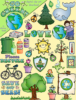 Green Day clipart recycle DJ Download Art Inspiring clip