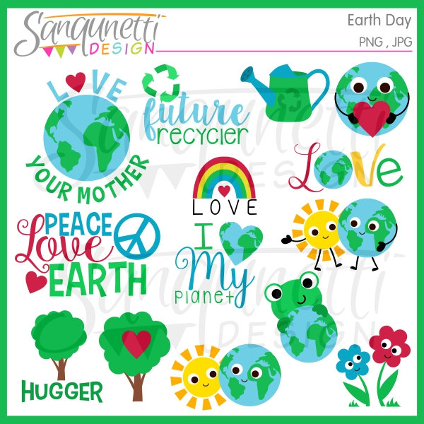 Green Day clipart recycle Download clipart Grandmas  earth