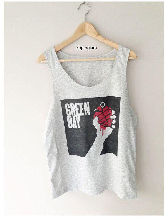 Green Day clipart short sleeve shirt Band Merch Green on $14