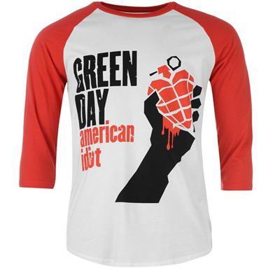 Green Day clipart short sleeve shirt Merch Green Official shirt Mens