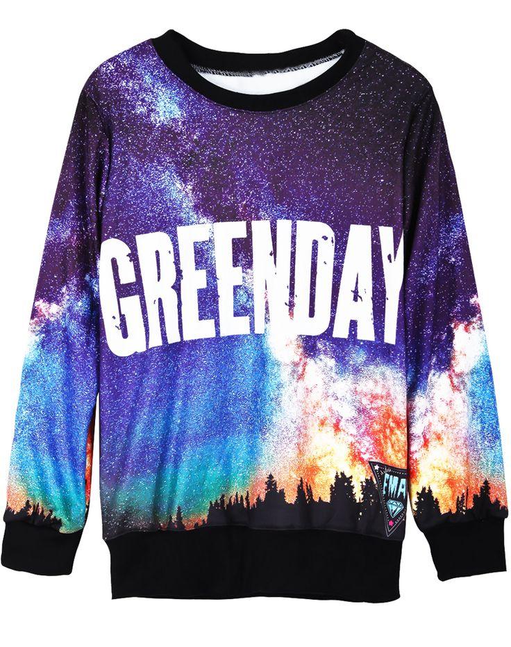 Green Day clipart short sleeve shirt Sleeve Pinterest Black Band 159