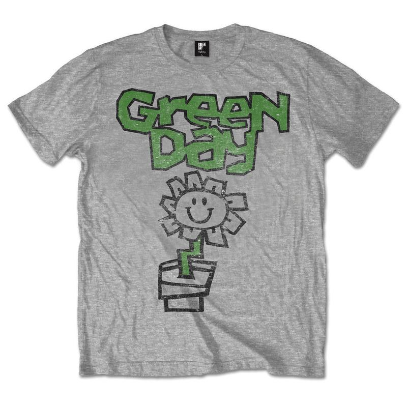 Green Day clipart t shirt And Merchandise Men's Music Flower