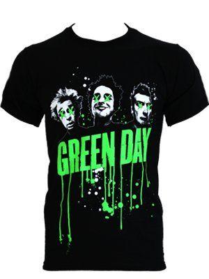 Green Day clipart t shirt Shirt ideas Black Green Drips