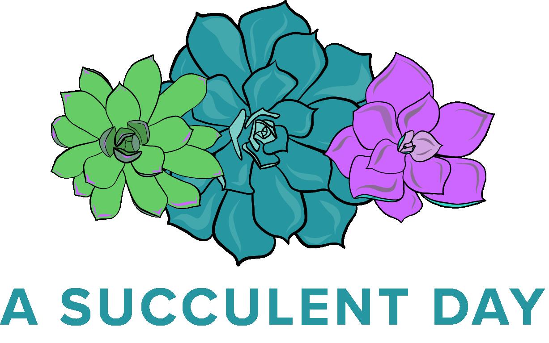 Green Day clipart tea plant Tea Blue — Succulent A