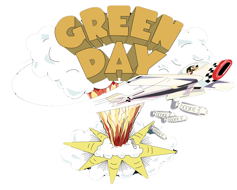 Green Day clipart transparent Green their Day and side