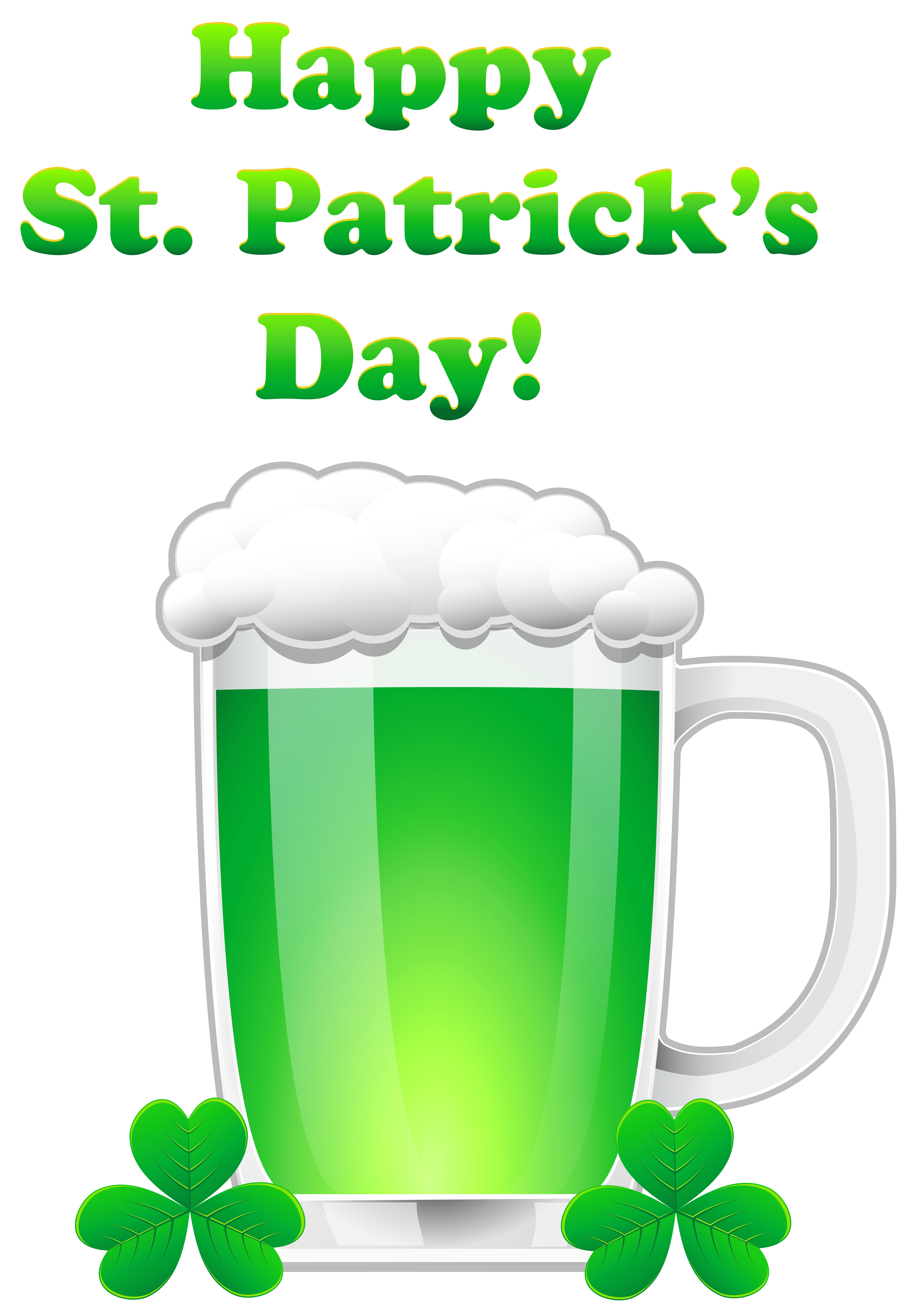 Green Day clipart transparent St Art Beer View Patrick's