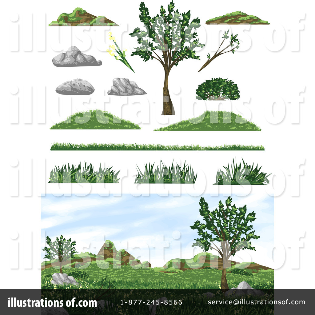 Green Day clipart vegetation Clipart Clipart Royalty Pan Illustration