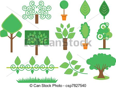 Green Day clipart vegetation Vegetation vegetation Vector  and
