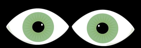 Green Eyes clipart Eyes Green Art Green Green