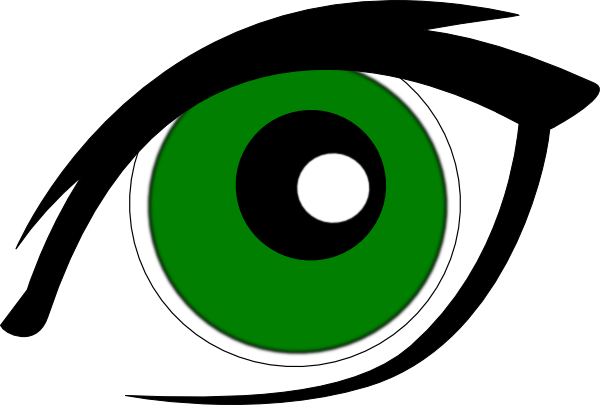Hazel Eyes clipart green eye Download com  at Green