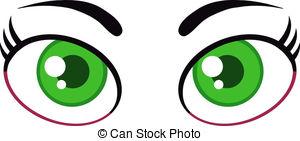 Green Eyes clipart 673 Women  Royalty Free