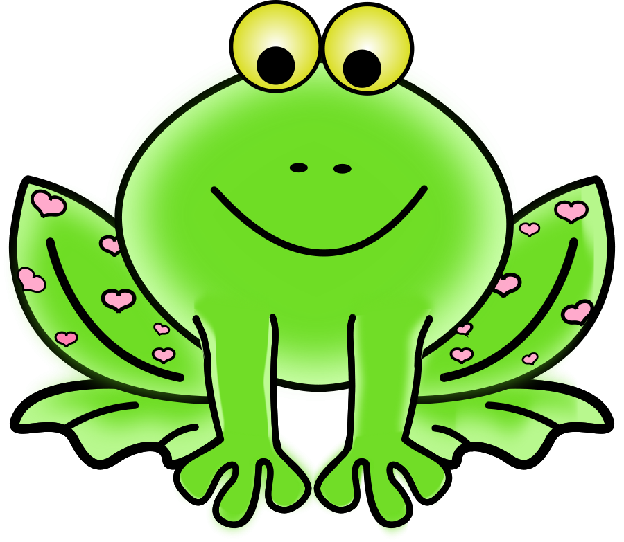 Green Frog clipart Clipart on Download on Free