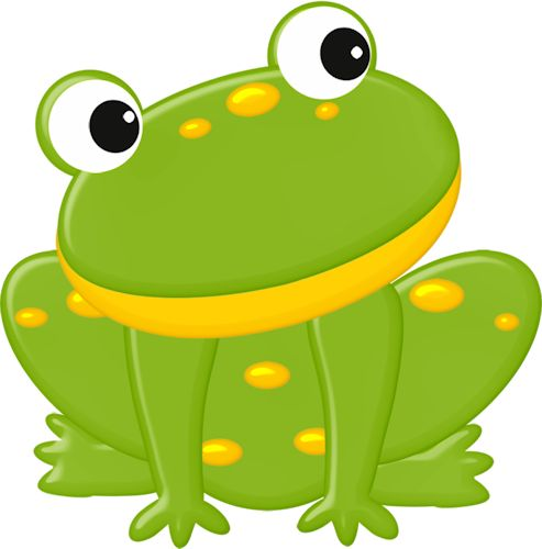 Toad clipart frog face #4