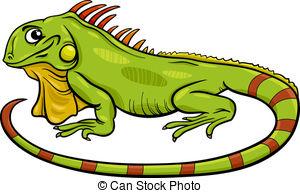Iguana clipart Illustration Stock cartoon  529