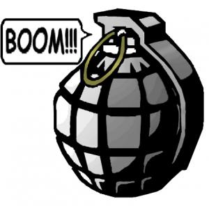 Grenade clipart Boom Grenade Clip Download Grenade