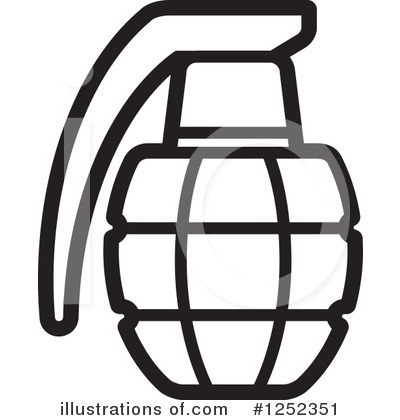 Grenade clipart Free by (RF) Illustration Clipart