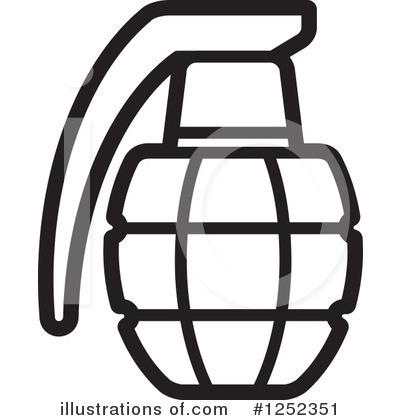 Grenade clipart Free by (RF) Grenade Perera