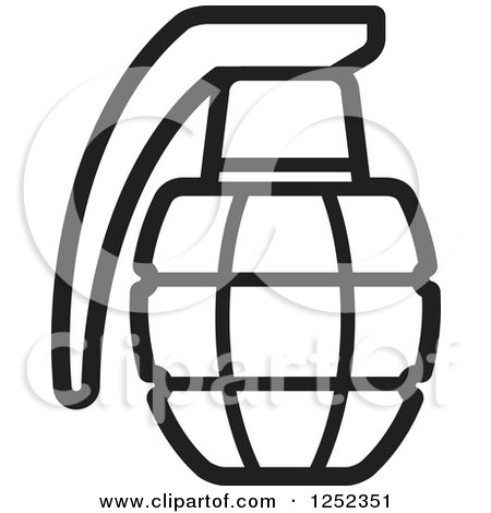 Grenade clipart Of a Hand collection grenade