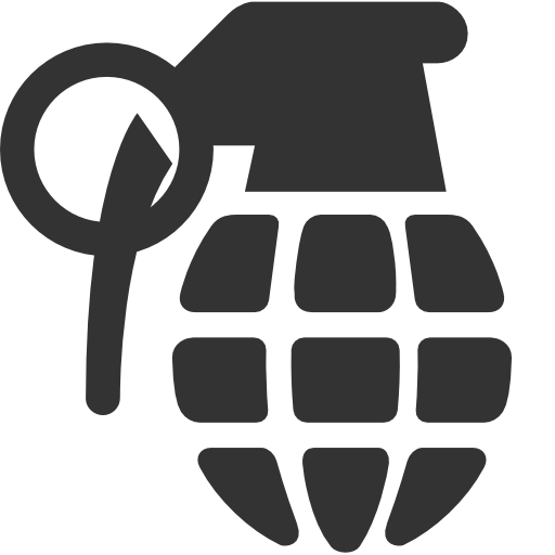 Grenade clipart Fifteen Isolated grenade of Search
