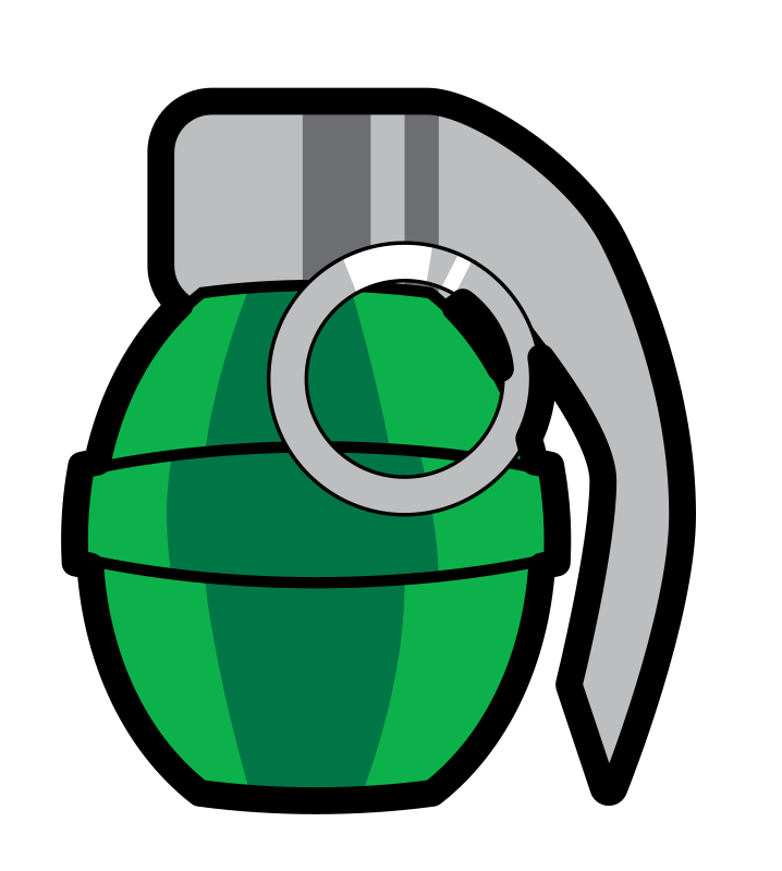 Grenade clipart Cartoon Art Grenade Clip &