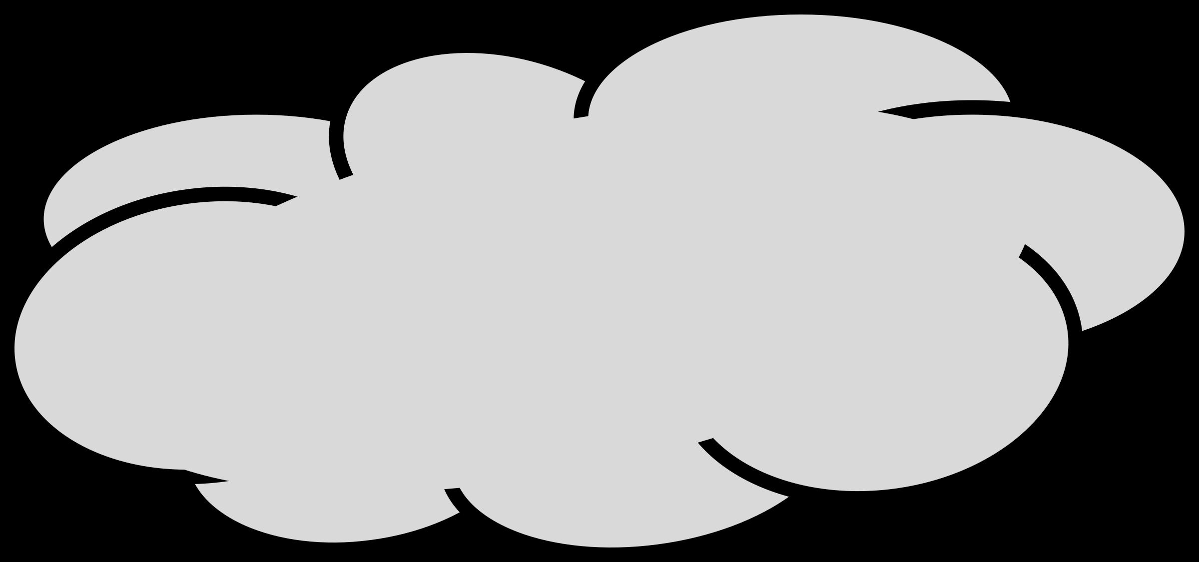 Grey clipart #3 Grey cloud Grey Clipart