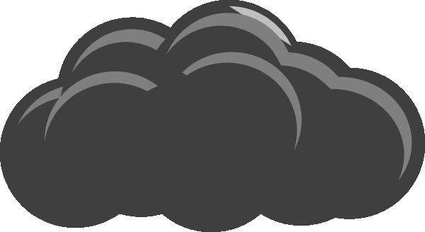Grey clipart Cloud3 Grey clip at art