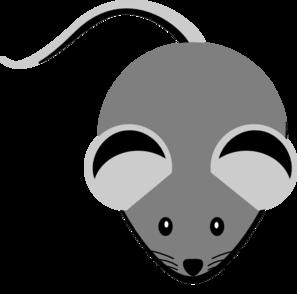 Grey clipart Clip Mouse art Clker online
