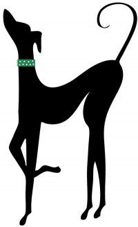 Greyhound clipart 20+ tattoo Greyhound Pinterest ideas