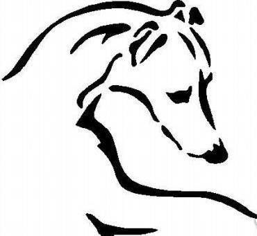 Greyhound clipart On Pin Art more Clip