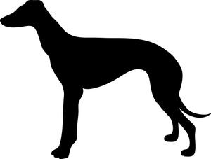 Greyhound clipart Dog Greyhound Clipart Dog Clipart