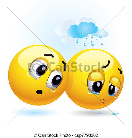 Grieve clipart disappointed And cheer Smileys 232 Illustrations