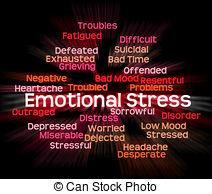 Grieve clipart emotional stress #3