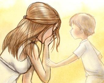 Grieve clipart mom Loss son loss a The