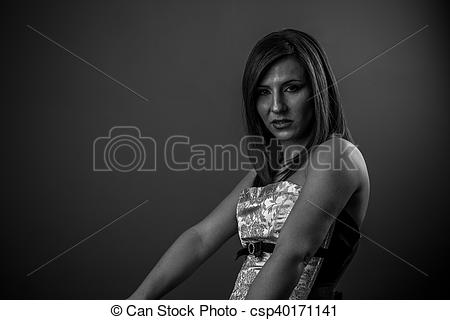Grieve clipart sad woman Brunette sad sorry woman and