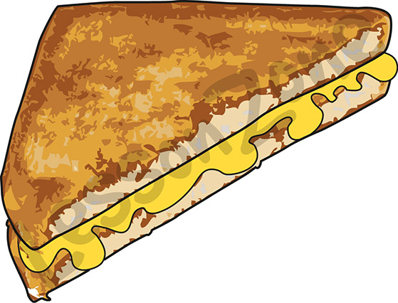 Grilled Cheese clipart #1
