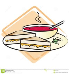 Grilled Cheese clipart #15