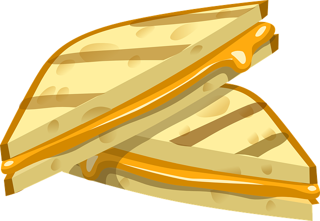 Grilled Cheese clipart #13