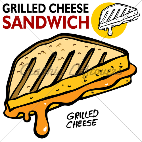 Grilled Cheese clipart #5