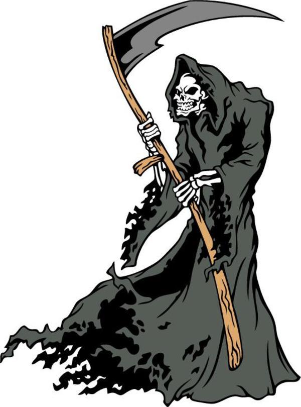Reaper clipart Shirt Free Download AI Reaper