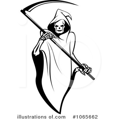 Grim Reaper clipart #1065662 by Clipart Illustration SM
