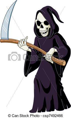 Reaper clipart Grim  illustration Reaper of