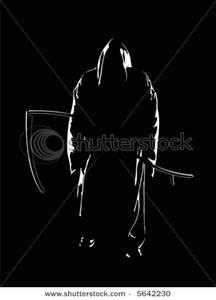 Reaper clipart silhouette Grim Silhouette the Clip Reaper