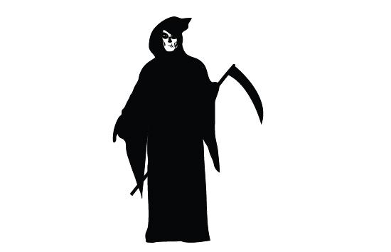Reaper clipart silhouette Silhouette Reaper Art Silhouette Art