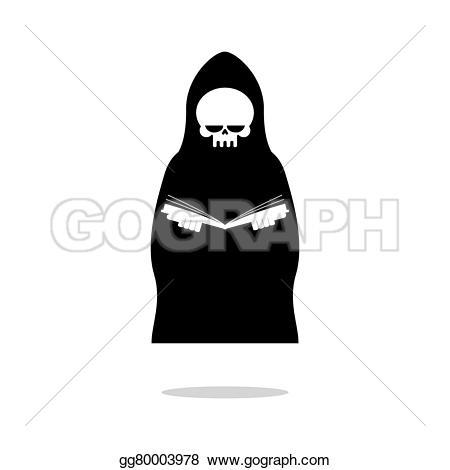 Reaper clipart cloak Grim cloak in reading black