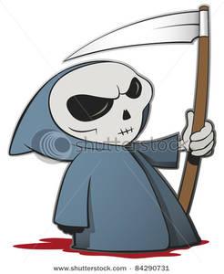 Reaper clipart cloak Blue Cloak Cloak Clipart In