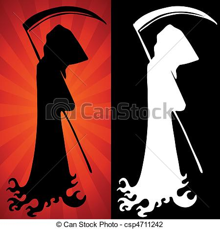 Reaper clipart silhouette Clipart Download #11 Grim drawings
